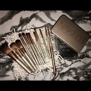 Brushes naked 12 pcs new